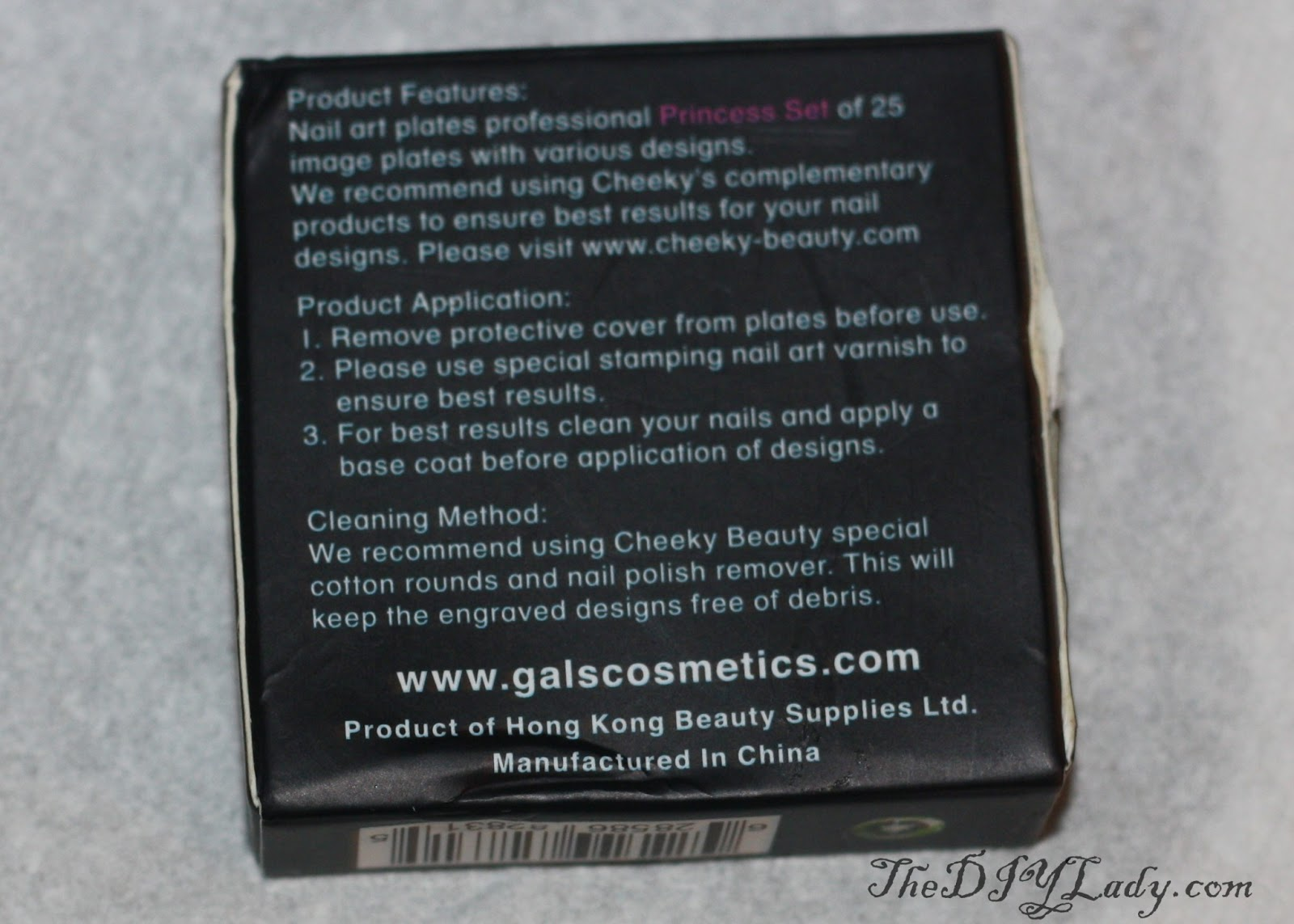 The Do It Yourself Lady: Nail Art & Review: GALS Stamping Plates ...