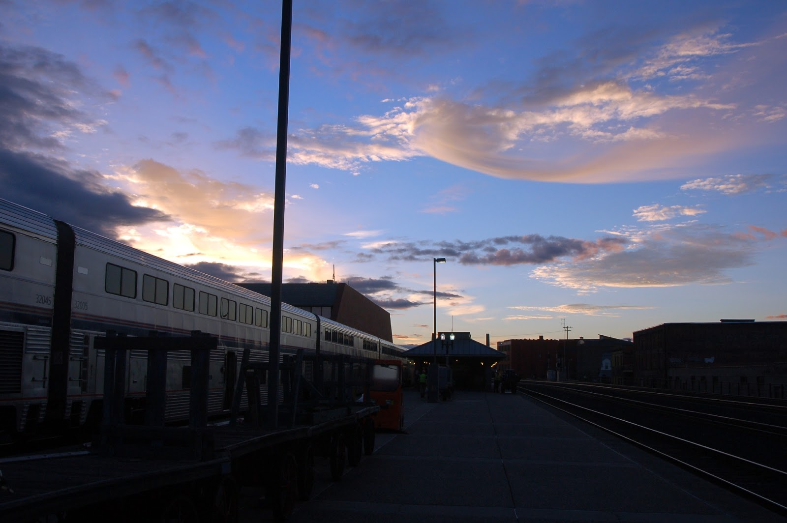 Right At The Fork: Happy Rails Part IV -- Spokane to Portland