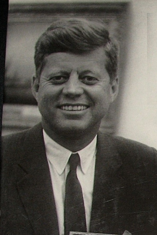 One of my favorite photos of President Kennedy.