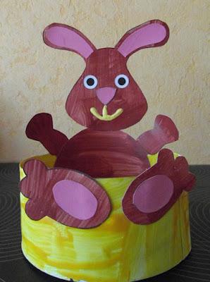 Corbeille de Pâques 2012 : lapin