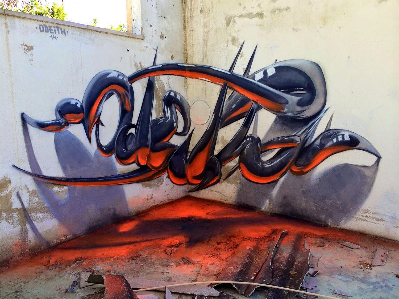 Grafite em 3D - Odeith