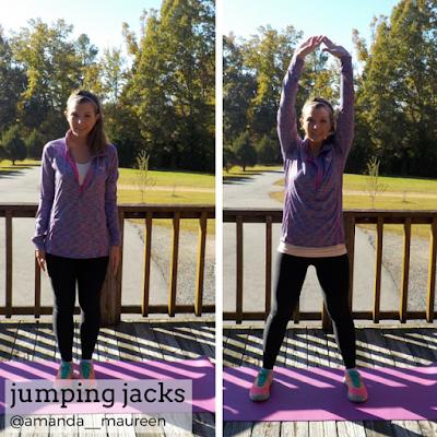 Fitness, HIIT, Sweat Pink, Workout Wednesday, jumping jacks
