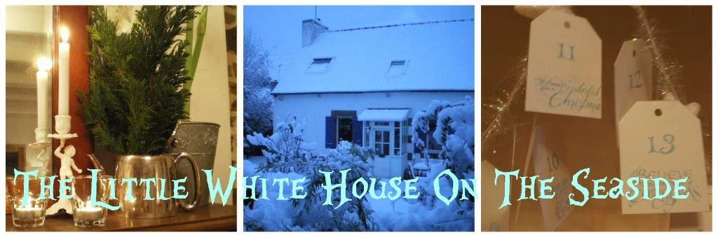 The Little White House On The Seaside