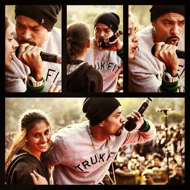 BOHEMIA LIVE IN CONCERT HANS RAJ COLLEGE DELHI UNIVERSITY 5