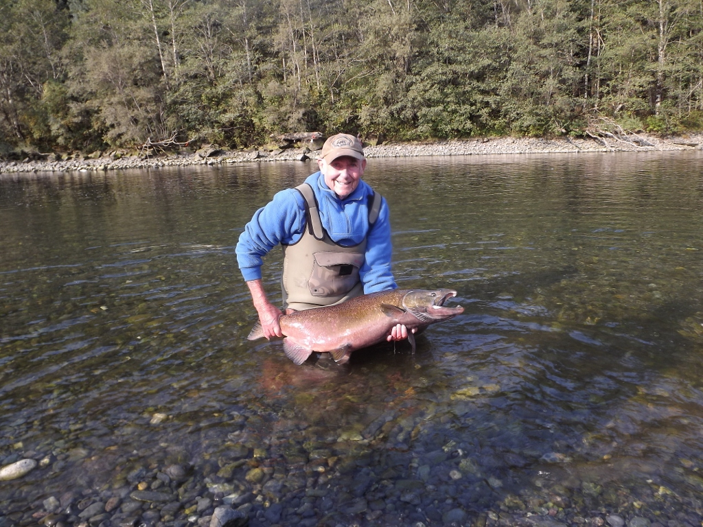 Central alberta fly tying club fly fishing for salmon on for Fly fishing for salmon