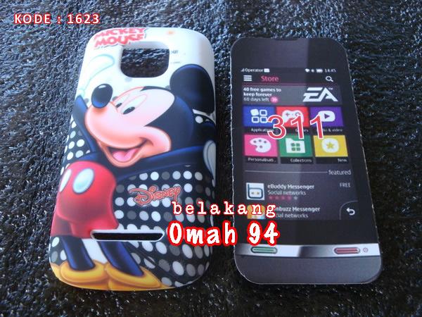 Jual Silikon Soft Case Gel Nokia Asha 311 Motif Mickey Mouse Putih ...