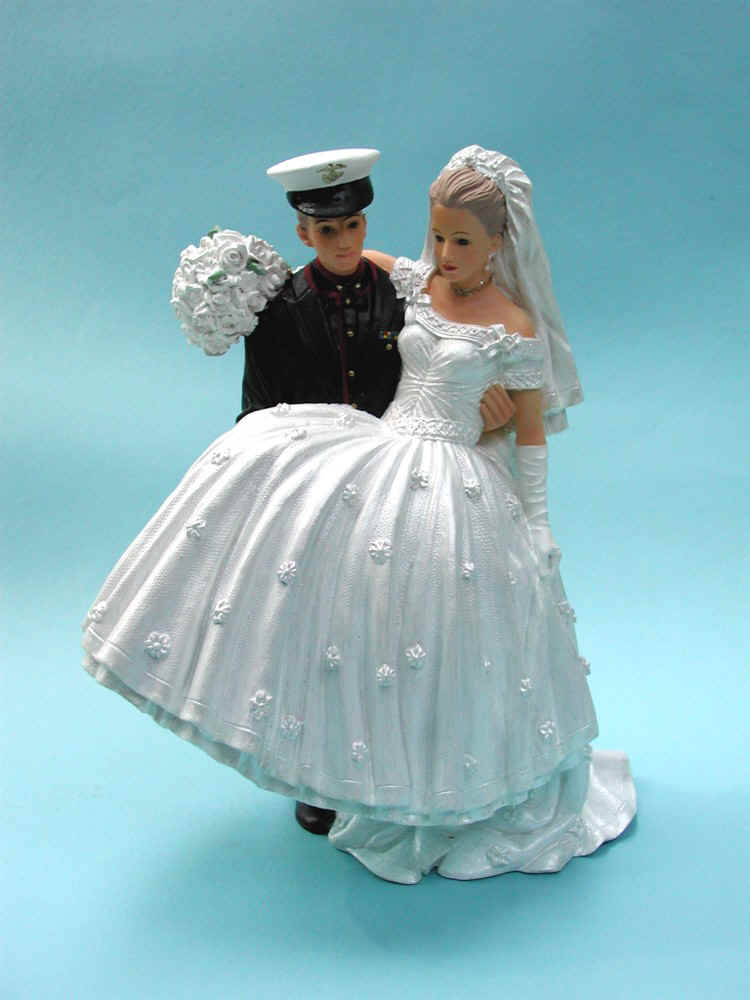 Navy Wedding Cake ToppersAir Force Wedding Cake Toppers Marine Wedding