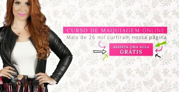 Curso de Maquiagem Online Boca rosa- aula grátis