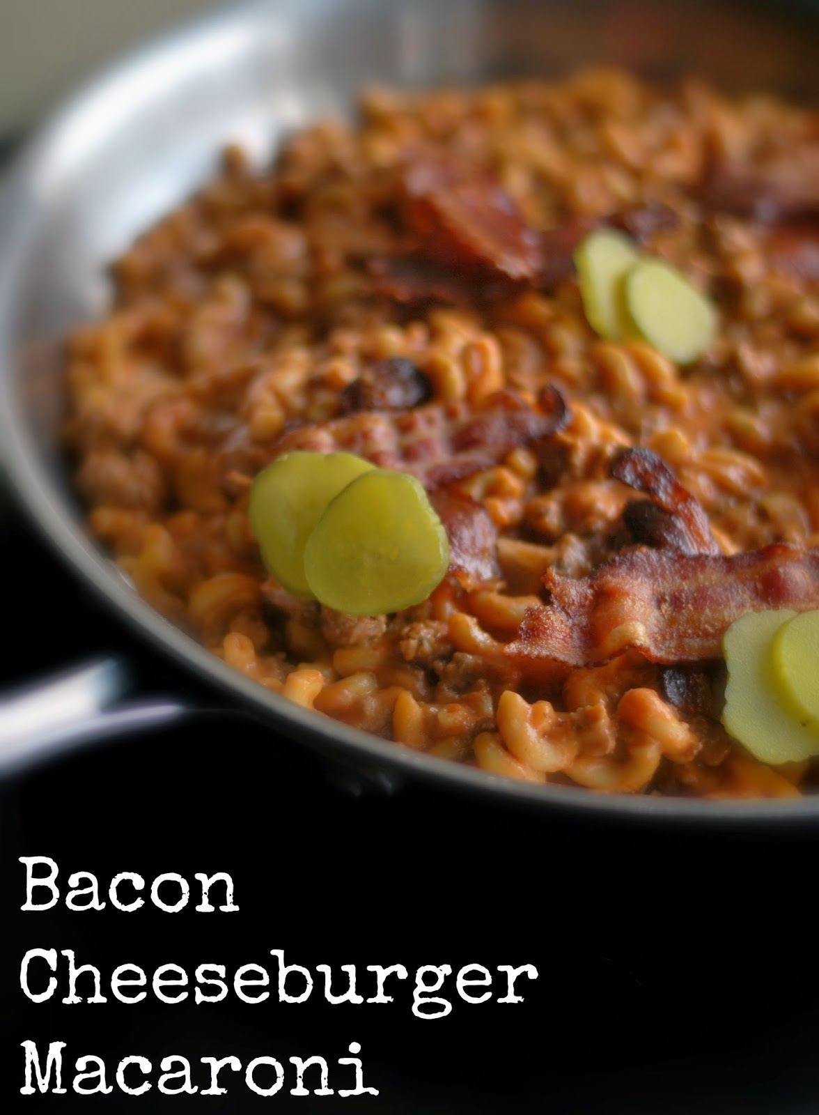 bacon cheeseburger pasta recipes bacon cheeseburger mac casserole ...