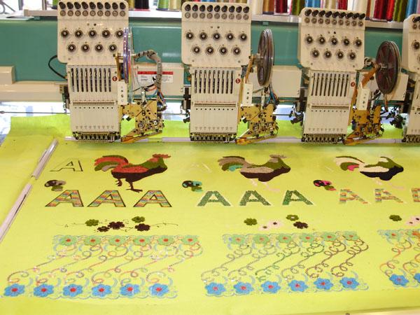 örnek tufting embroidery nakış işleme modelleri 5
