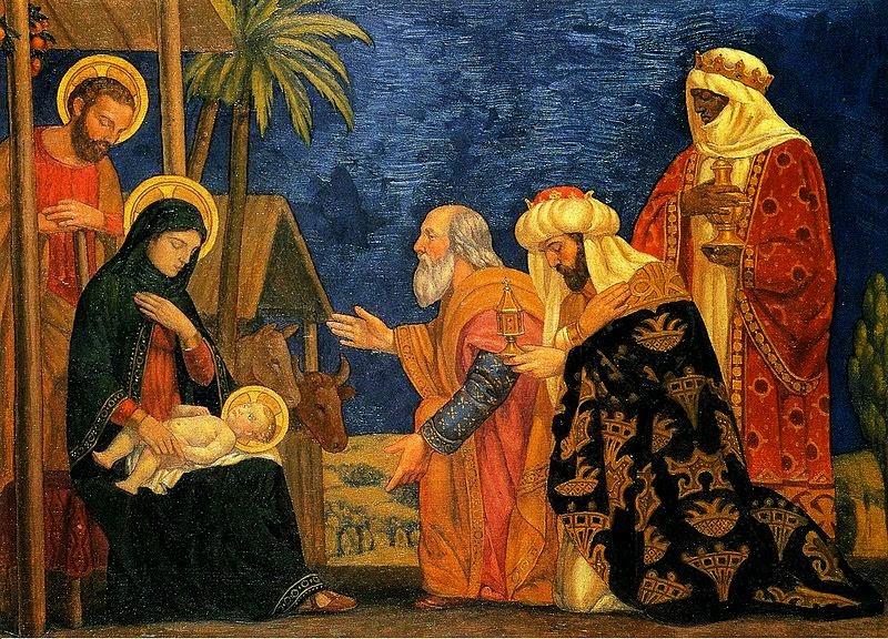 We Three Kings Oil Painting