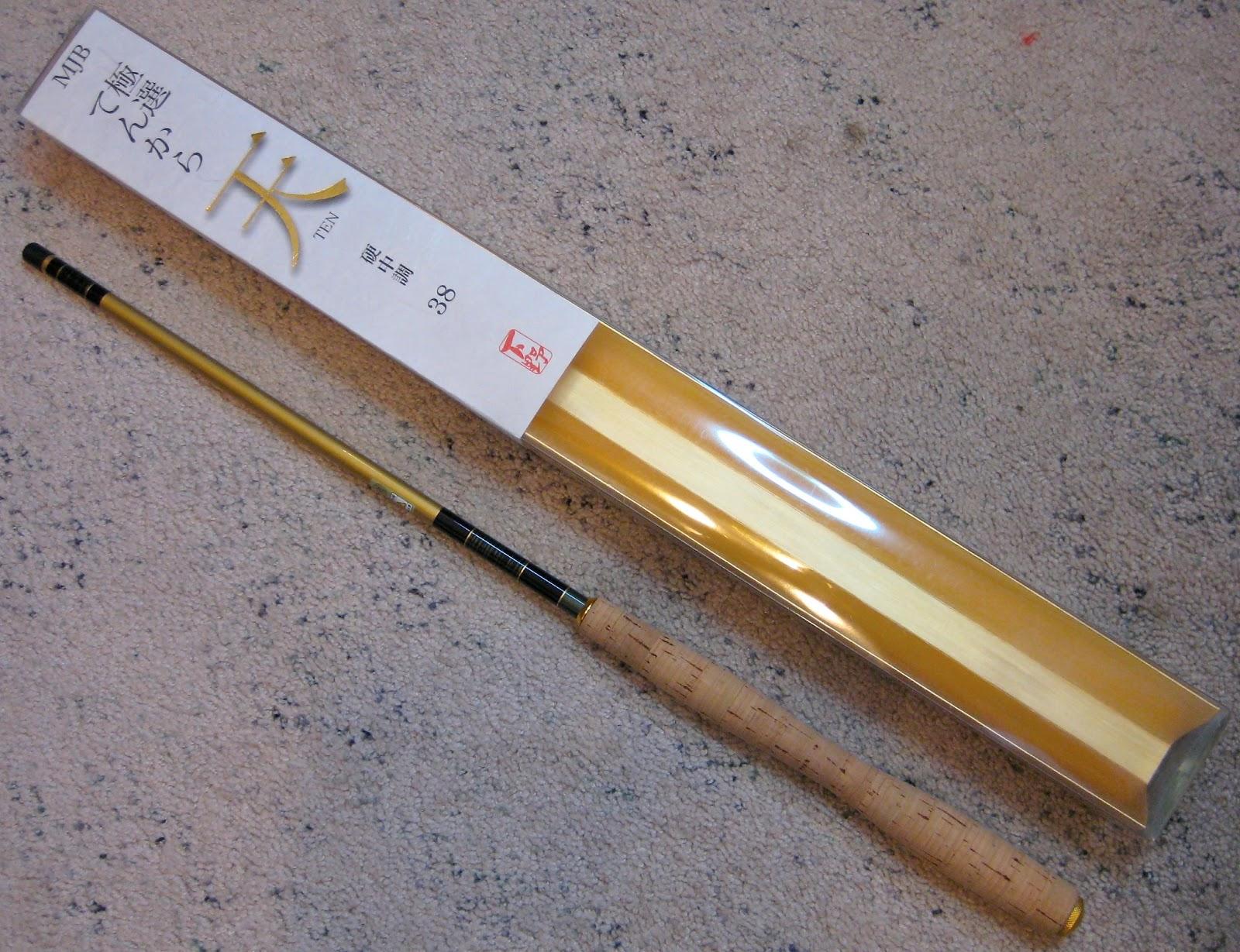 Teton tenkara shimotsuke ten tenkara rod review for Tenkara fishing rods