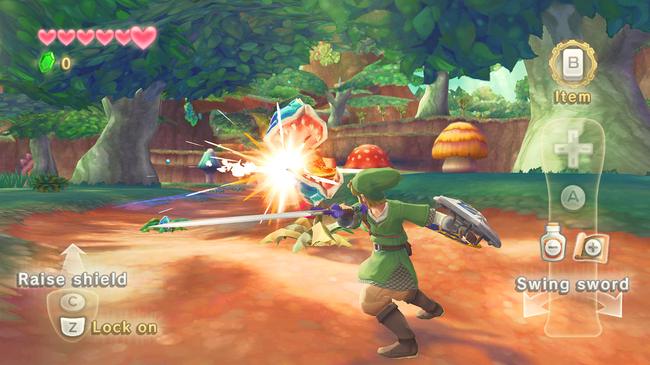 Pour le déplacement Link aura à sa disposition un oiseau(géant