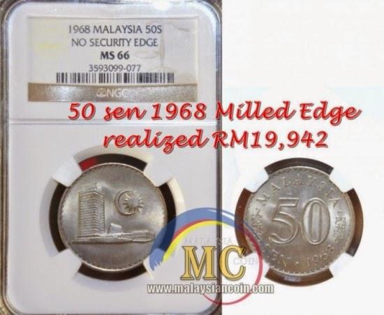 Kalau Anda Ada Duit Syiling 50 Sen Ini Mungkin Anda Boleh Jual Dengan Harga Hampir RM20 000