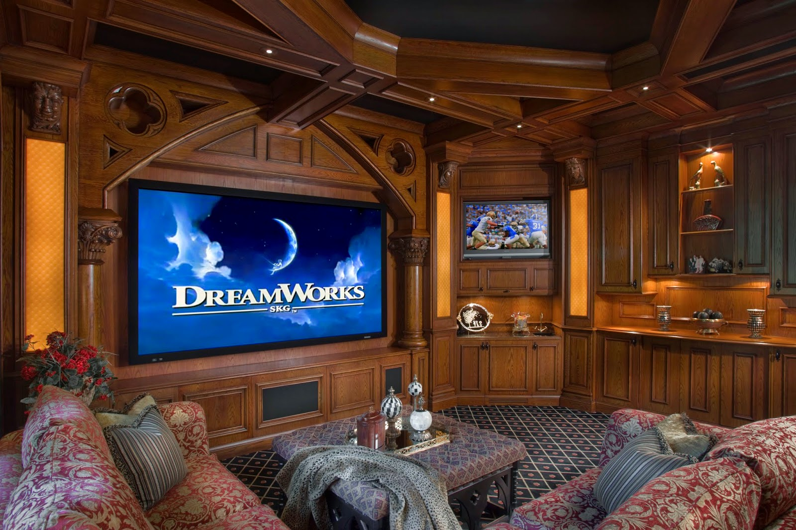 20 Home Theater Creative Design Ideas Cool Stuff