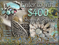 Enter to win a $400 Shopping Spree Giveaway - ends 12/27/12