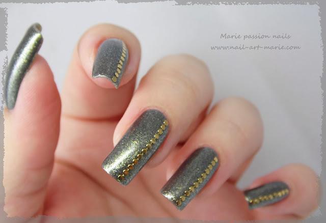 Nail art chic et discret6