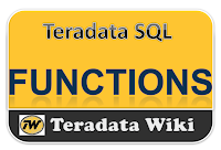 TeradataWiki-Teradata FUnctions