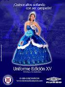 Uniforme Cruz Azul Edición XV. Publicado por República Azulcrema en 13:35 (jerseycruzazulxv)