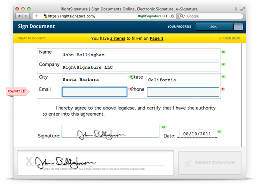 Online Contracts: Legal Agreements on the Web | RightSignature Blog
