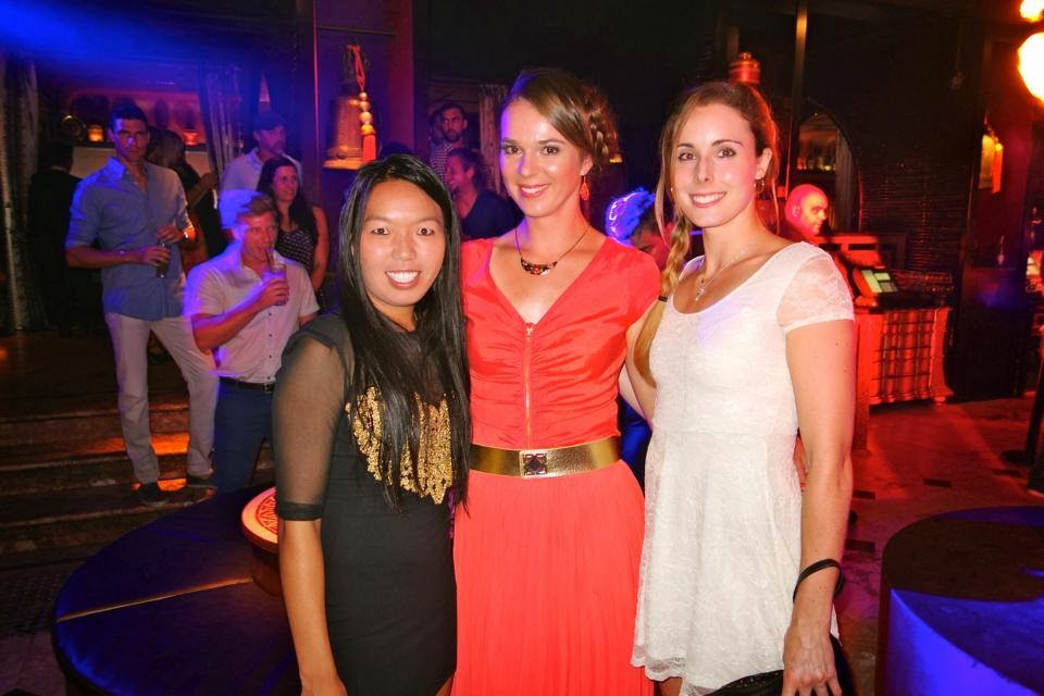 Hot shot: WTA stars show up at Sydney Player Party