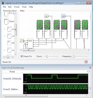 LogicCircuit simulador de circuitos
