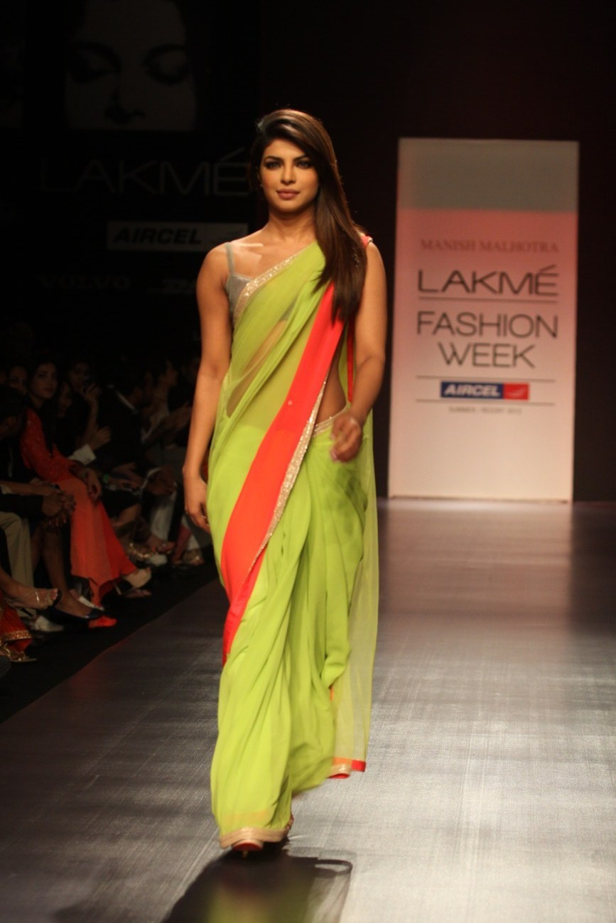 Saree for fashion show snehal ugale snehalugale on pinterest