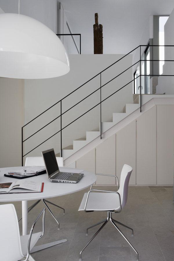Hogares frescos penthouse de dos niveles con espacios - Duplex de diseno ...