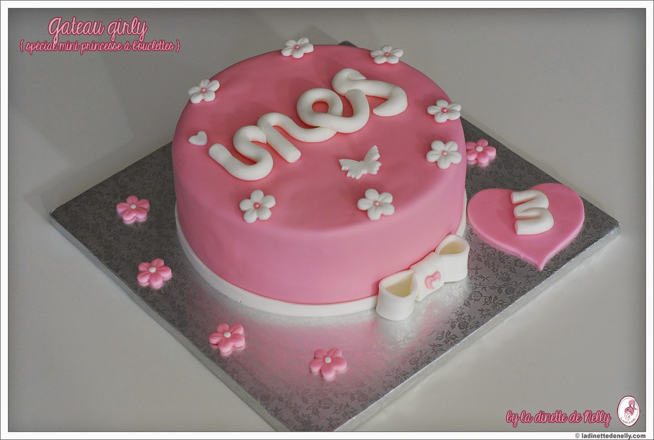 gteau danniversaire rose 100 girly ins a 3 ans