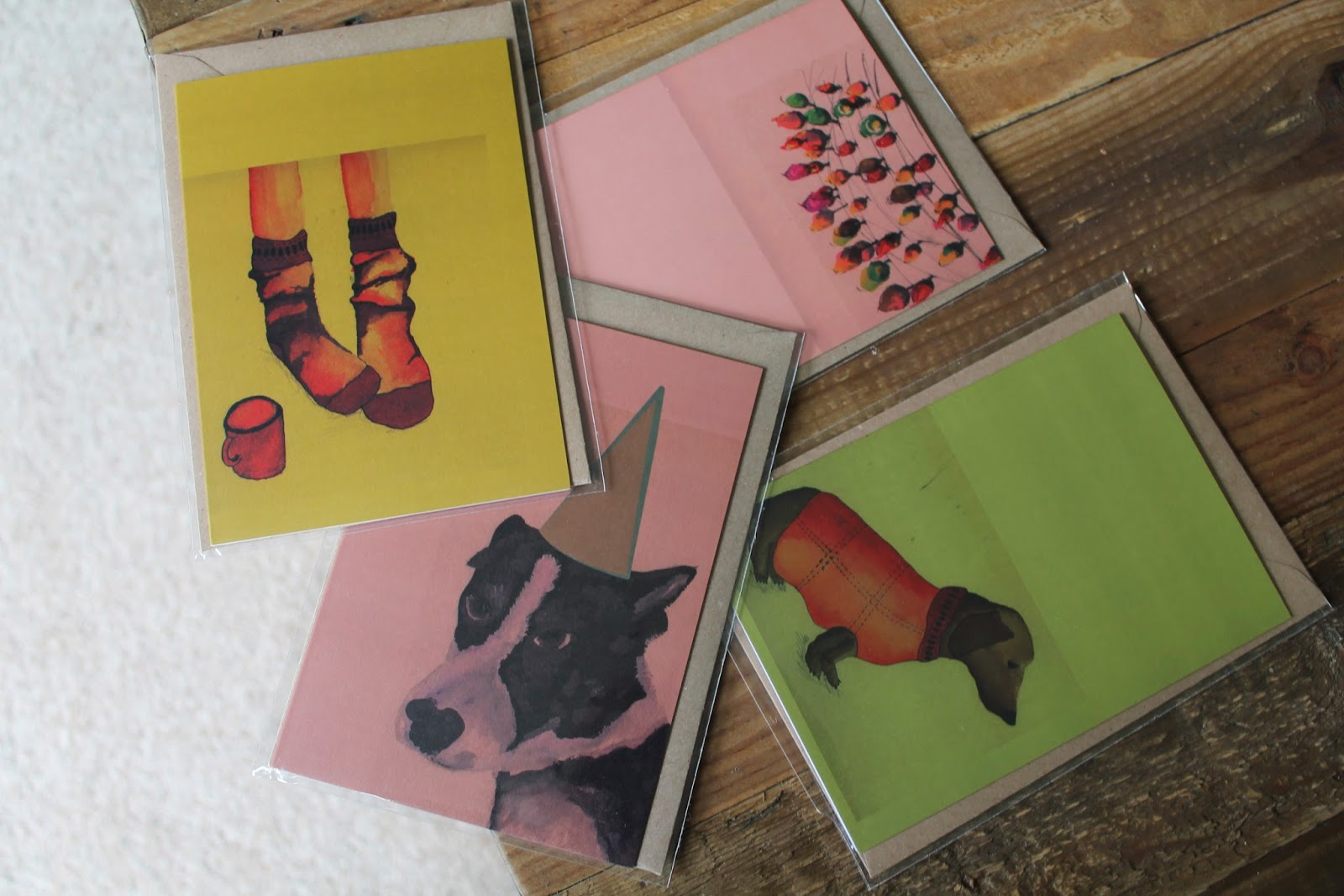 Plewsy Studio - Fiona Plews - Handmade Ilustrations Cards Prints