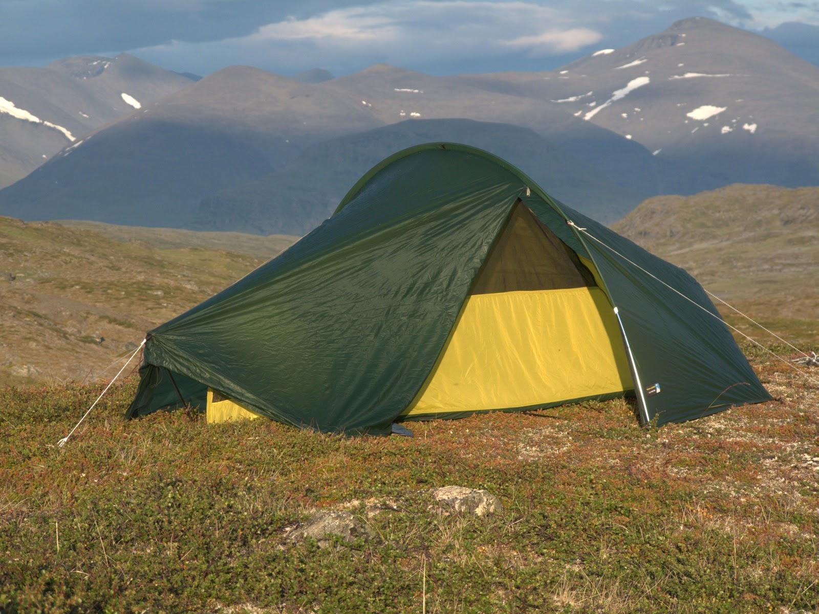 Terra Nova Laser Photon in Håikanvagge Swedish Lapland & Coast to Coast Sweden: Gear - Shelter for C2C