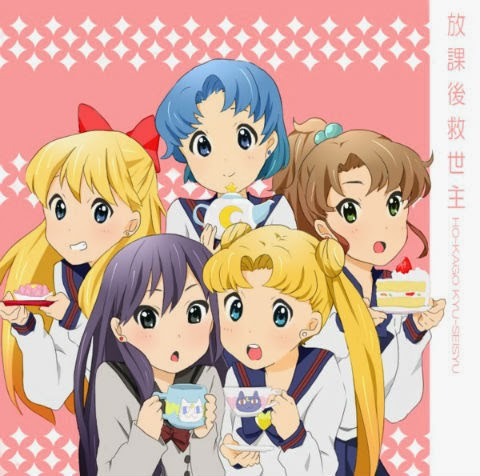 Sailor Moon rendered as K-On!