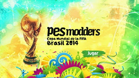 PES 2013 PESModders FIFA World Cup Brazil 2014 Patch