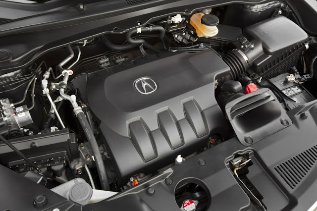 2015 New Acura RDX Performace view engine view