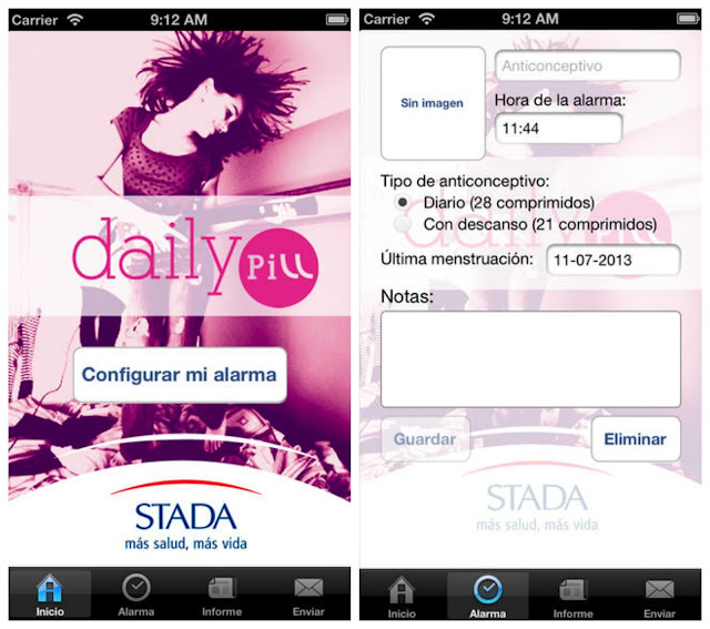 Stada Daily Pill iPhone