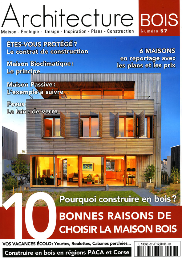 Magazine architecture bois n 57 photographies d 39 architecture for D architecture magazine