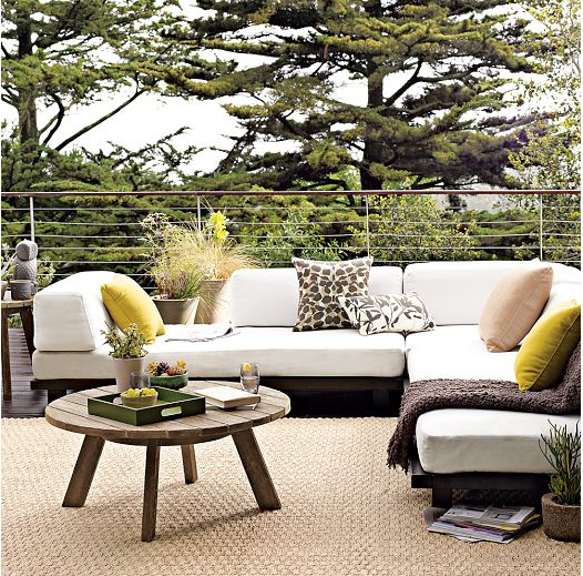 West Elm - outdoor sectional