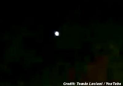 UFO Over Tucumán, Argentina 1-18-16