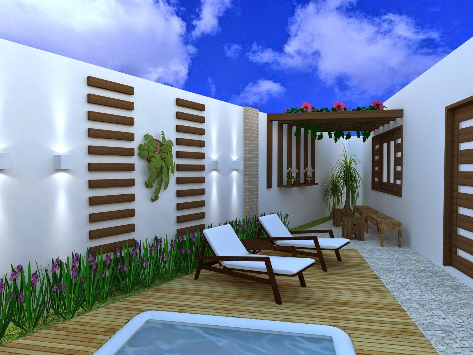 Época Arquitetura, Restauro, Decoraç u00e3o, Paisagismo PROJETOÁREA EXTERNA -> Decoração De Area Externa Pequena