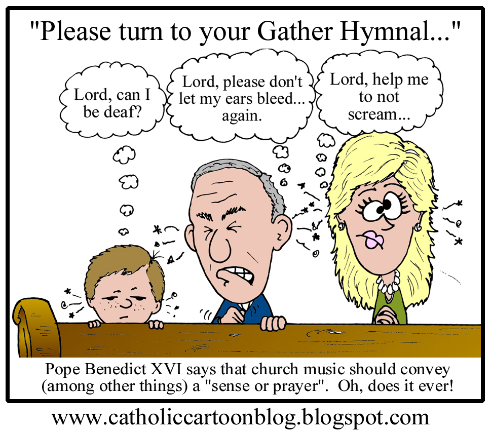 Catholic Cartoon Blog May 2011