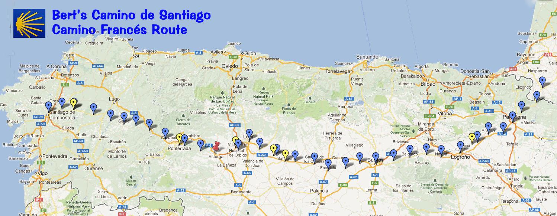 Trekcapris Blog: Berts Camino de Santiago: For the Love of Spain ...