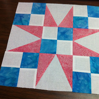 54 40 or Fight Quilt Block