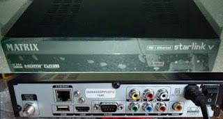 matrix starlink v hd ethernet firmware