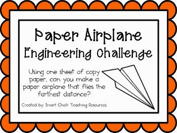 http://www.teacherspayteachers.com/Product/Paper-Airplane-Engineering-Challenge-Project-Great-STEM-Activity-703352