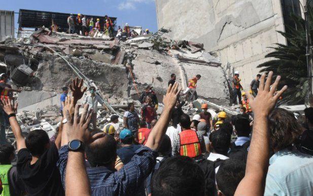 Terremoto Messico 19 Settembre 2017: bilancio salito a 50 vittime, danni catastrofici