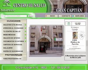 WEB DEL CENTRO DE SALUD GRAN CAPITÁN
