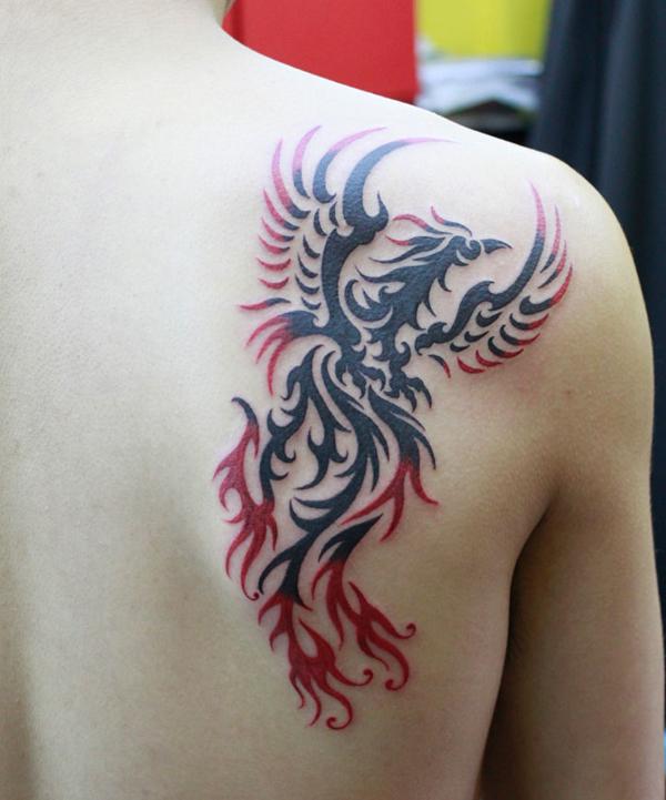 Famosos Tutano Mole: 50 incríveis tatuagens de fênix DE81
