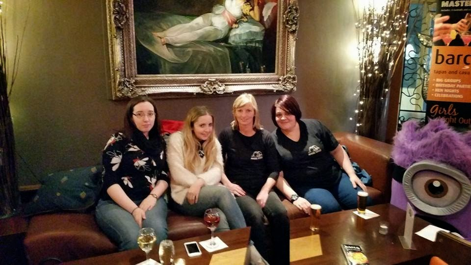 Angel Wings meet-up. Barca Glasgow.