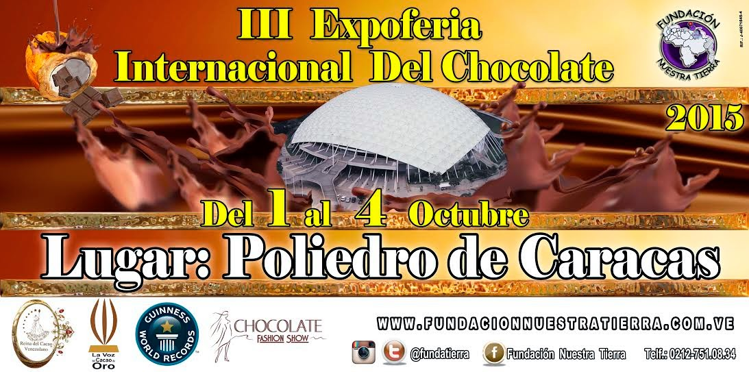 iii expo feria internacional del chocolate caracas poliedro venezuela