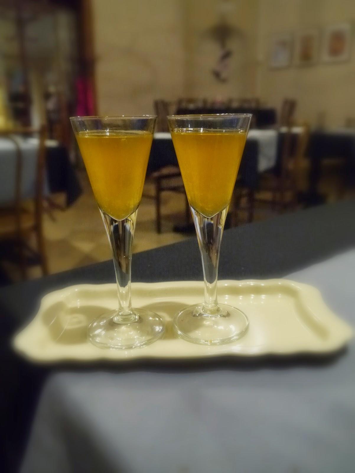 alkohol, miód, pomarańcza